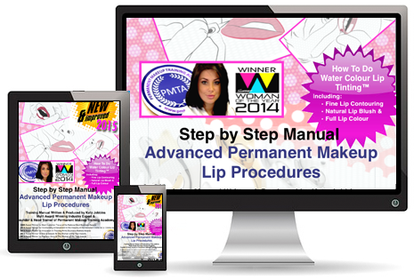 Advanced Permanet Makeup Lip procedure Manual Online