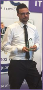 Paul With Business Personality Award