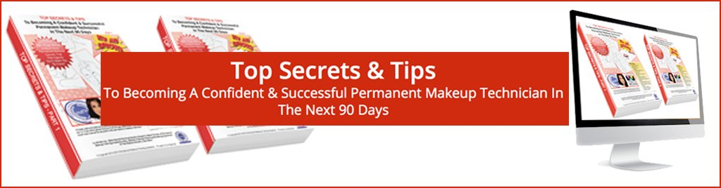 Top secrets and tips for permanent makeup technicians Banner