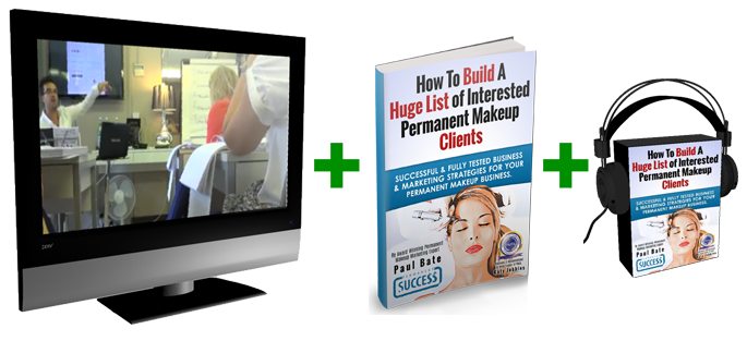 Building A Huge List of Interested Permanent Makeup Clients