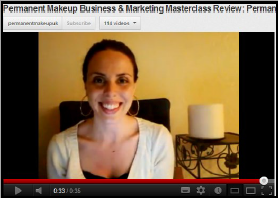Julie Permanent Makeup Marketing Course Student Review