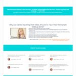 Permanent Makeup Website Design Package 1