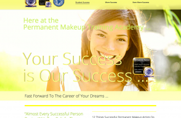 Experts in Permanent Makeup Website