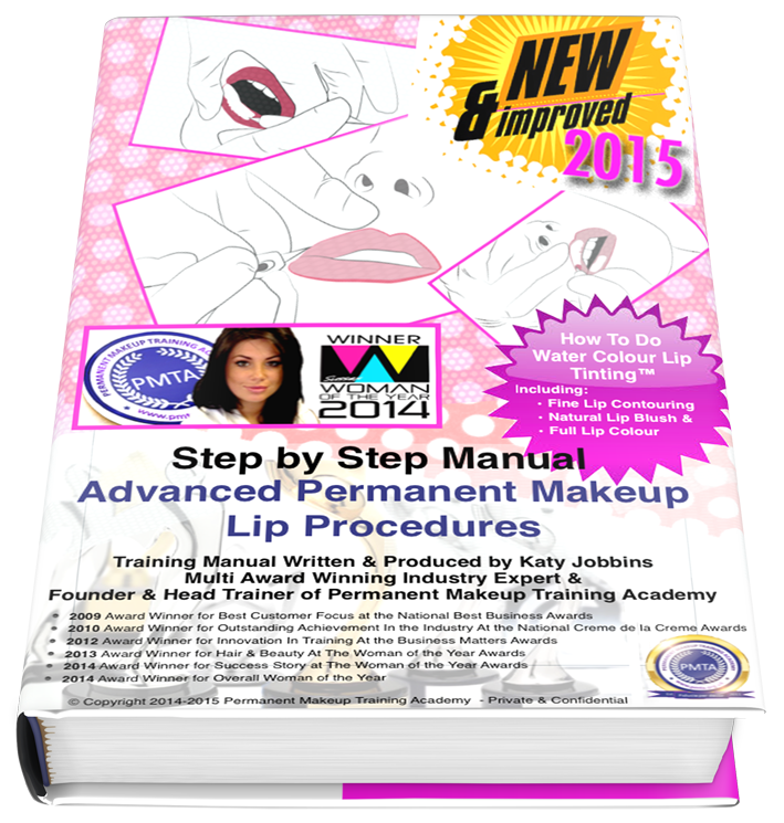 Advanced Permanent Makeup Lip Training Manual 2015 ebook cover front