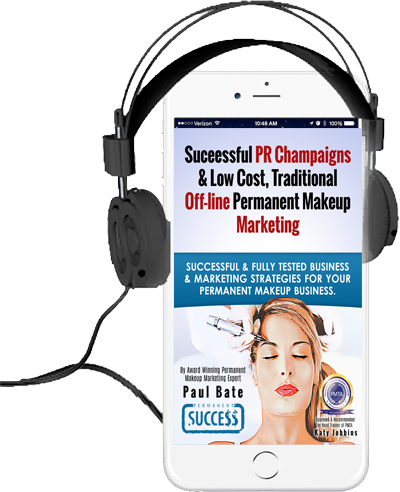Successful PR & Offline Permanent Make-up Marketing Audio