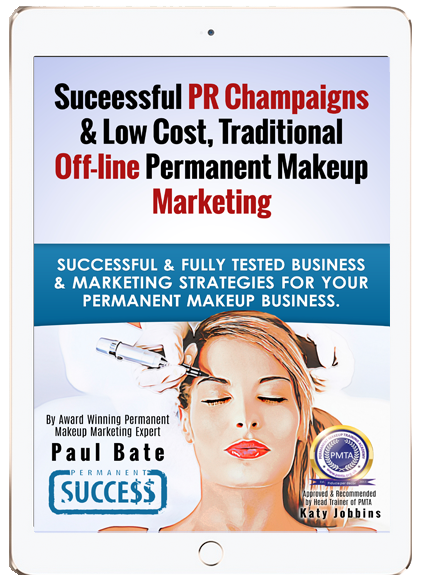 Successful PR & Offline Permanent Make-up Marketing ebook
