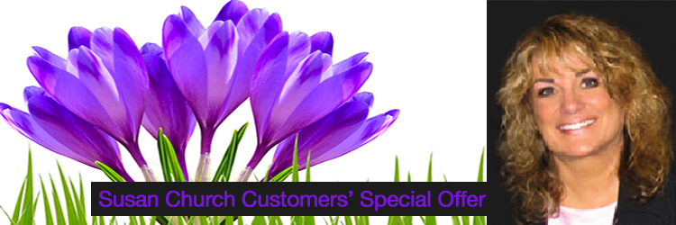 Susan Church Special Offer Banner