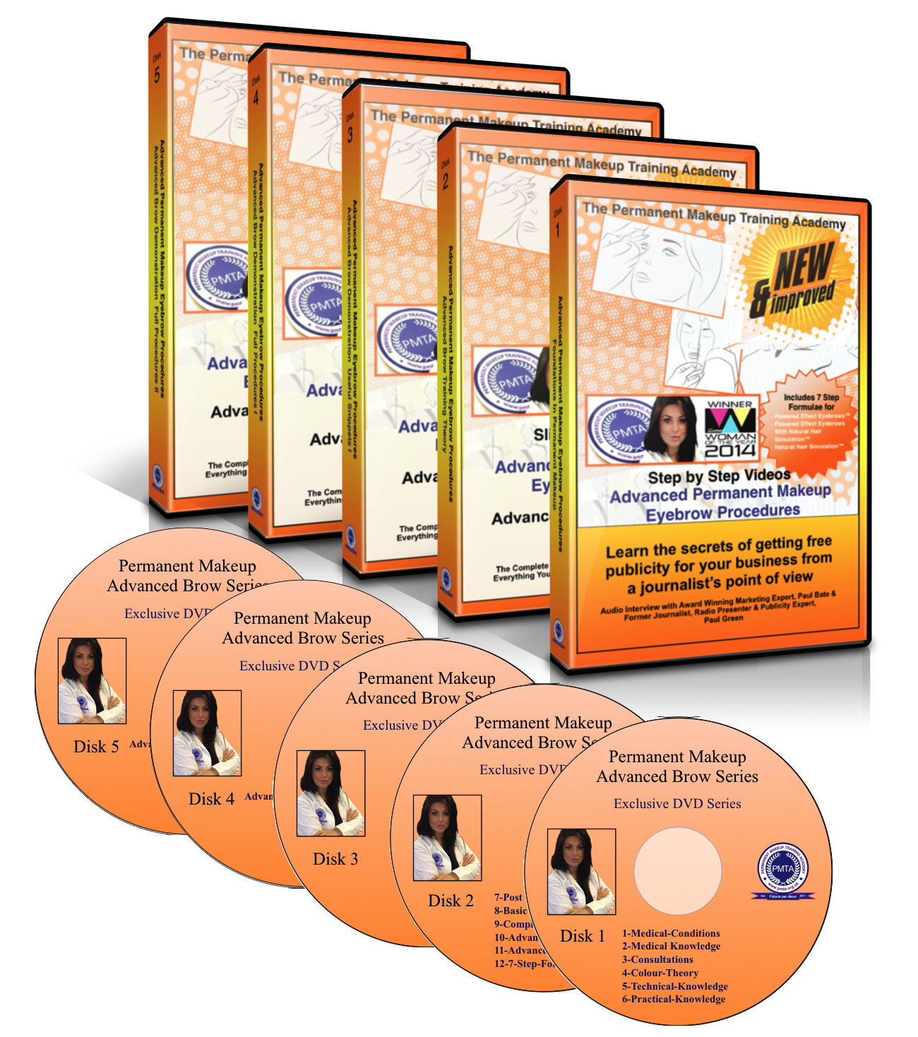 Advanced Brow Manuals and DVDs