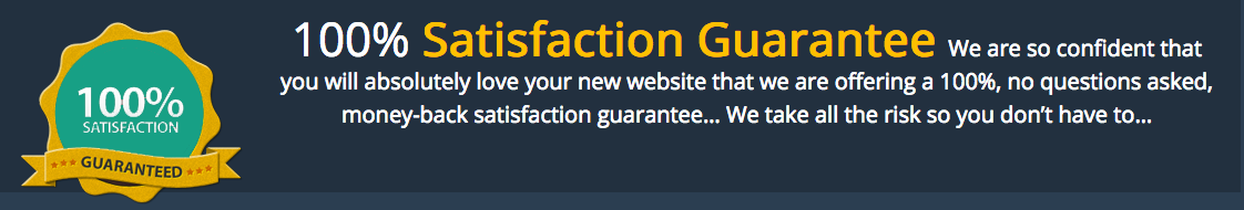 100% Website Guarantee