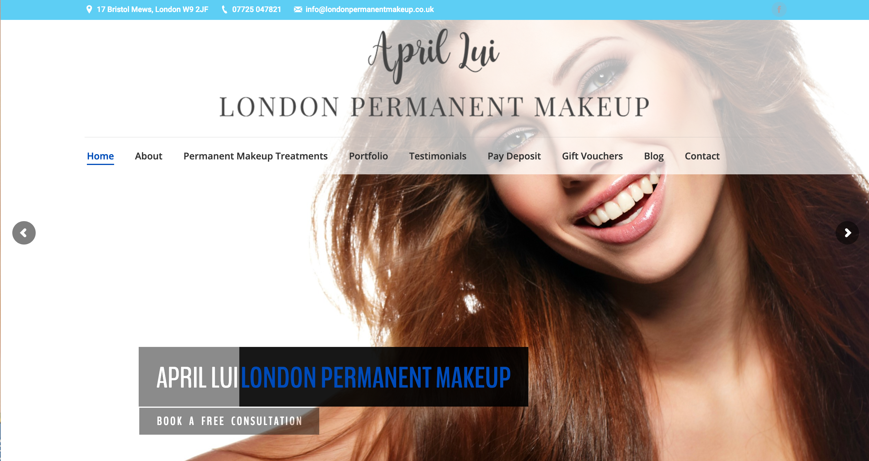 april lui london permanent makeup image